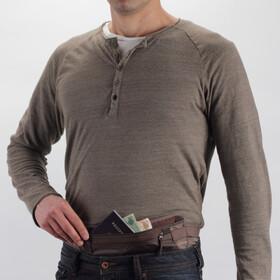 Eagle Creek Undercover Money Belt DLX Portfel brązowy
